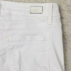 PAIGE Jeans - Paige Verdugo Crop Jeans White